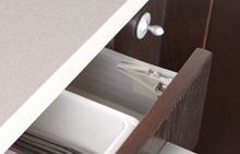 Safety closer for top drawers