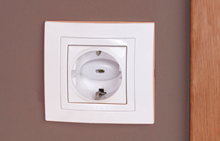 Socket protector with key